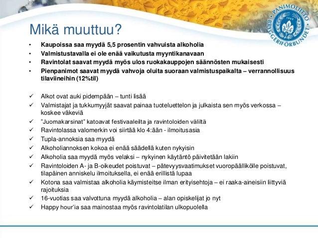 Panimoliiton ajankohtaiset teemat / elokuu 2016 Slide 3