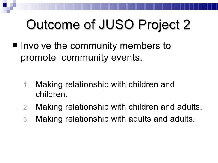 <ul><li>Involve the community members to promote  community events. </li></ul><ul><ul><li>Making relationship with childre...
