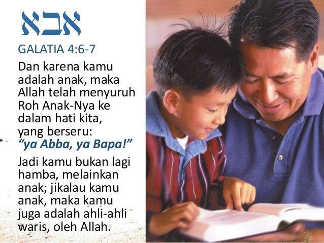 Bapa kami yang di sorga, ...