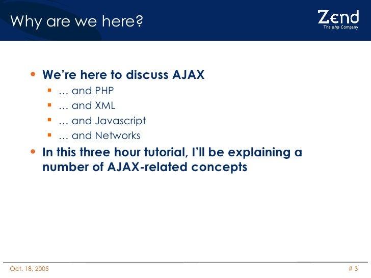 Ajax and PHP Slide 3