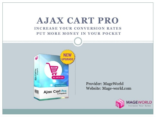 Speed Up shopping procedure with Ajax Cart Pro - Magento ...