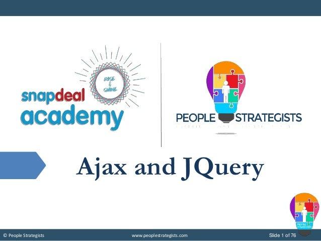 Ajax and Jquery