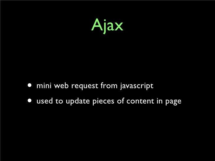 Ajax and RJS Slide 3