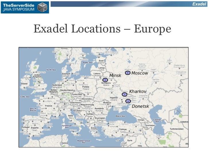 ExadelExadel Locations – Europe