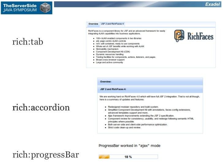 Exadelrich:tabrich:accordionrich:progressBar