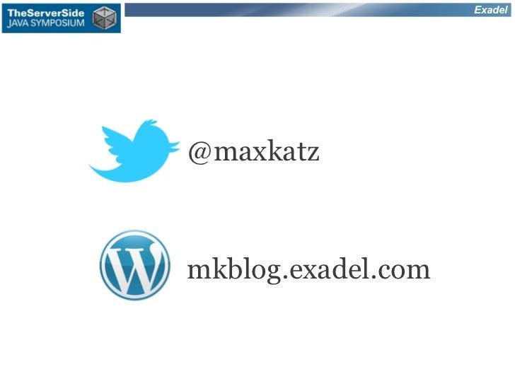Exadel@maxkatzmkblog.exadel.com
