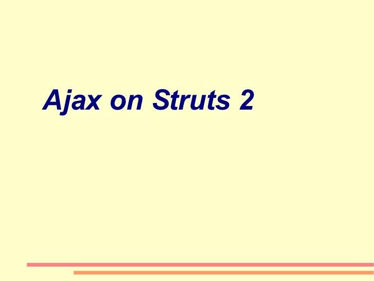 Ajax on Struts 2