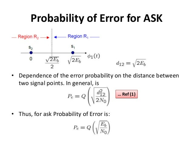 how to explain probability errors
