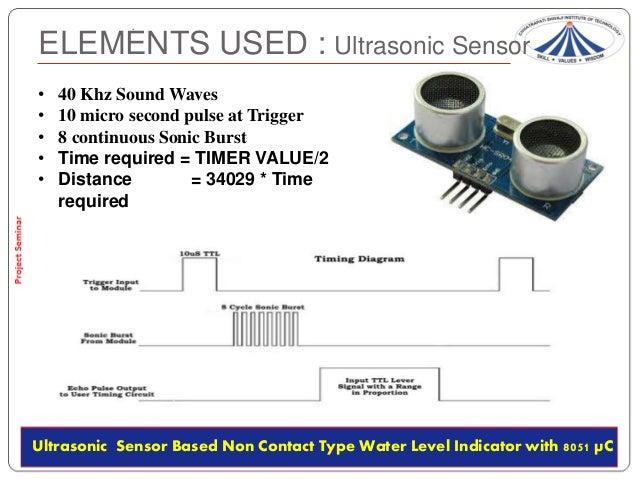Ultrasonic Transducer Circuitwater Level Sensor Circuitultrasonic