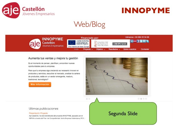 INNOPYMEWeb/Blog           Segunda Slide