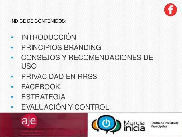 Facebook en AJEMurcia Slide 2
