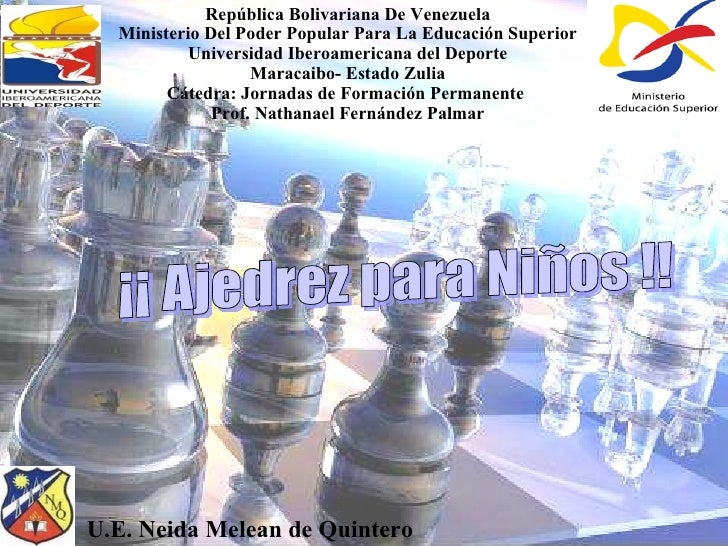 República Bolivariana De Venezuela Ministerio Del Poder Popular Para La Educación Superior Universidad Iberoamericana del ...
