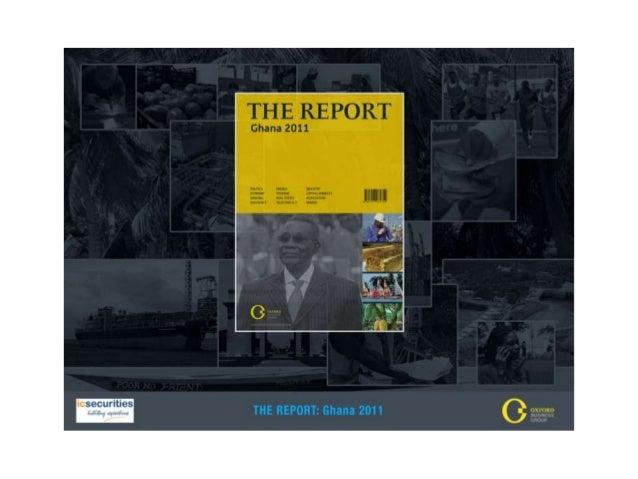 The Report Ghana 2011