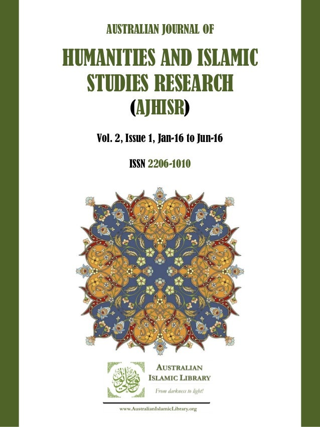 Australian Journal of Humanities and Islamic Studies Research || Vol 2, Issue 1