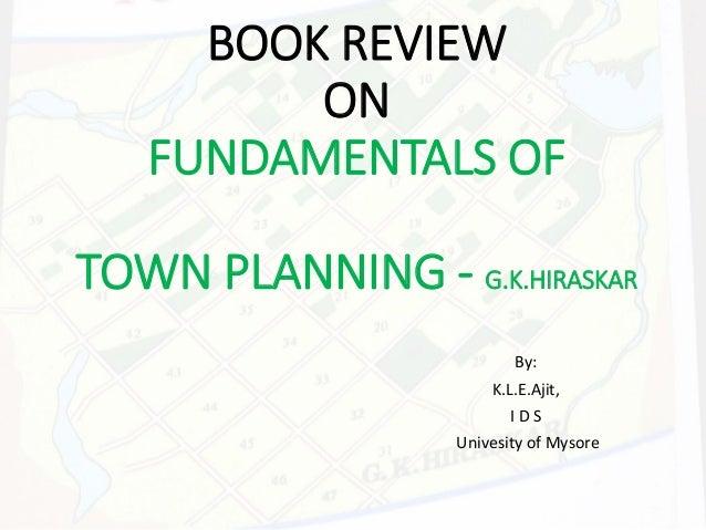 Town planning hiraskar pdf to excel