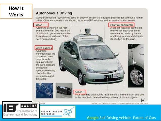 how self driving cars work In 2012, brin stated that google self-driving cars would be available for the general public in 2017, and in 2014 this schedule was updated by project director chris urmson to indicate a possible release from 2017 to 2020  commute to work, or get safely home after a night on the town.