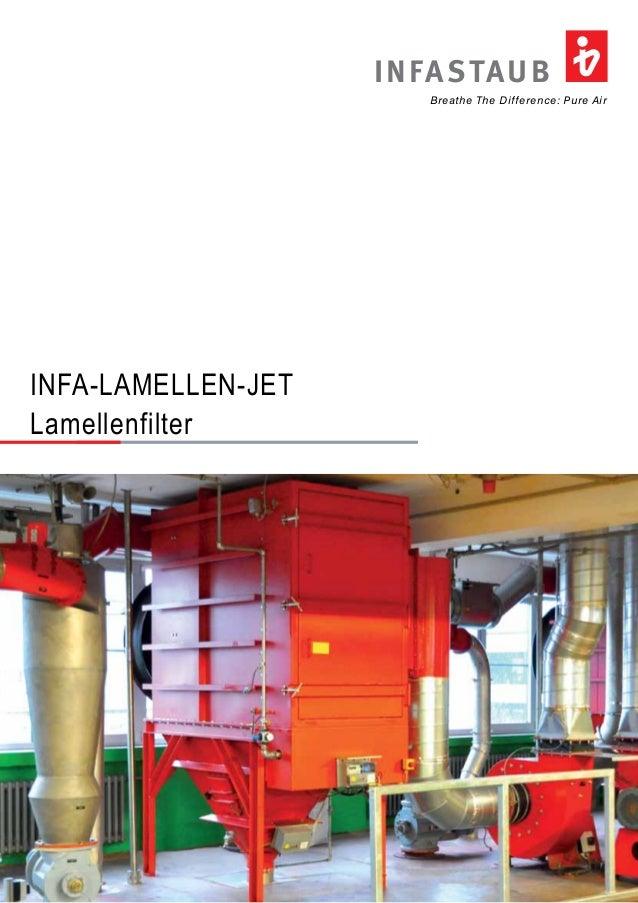 INFASTAUB  Breathe The Difference: Pure Air  INFA-LAMELLEN-JET  Lamellenfilter