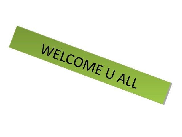 WELCOME U ALL WELCOME U ALL WELCOME U ALL