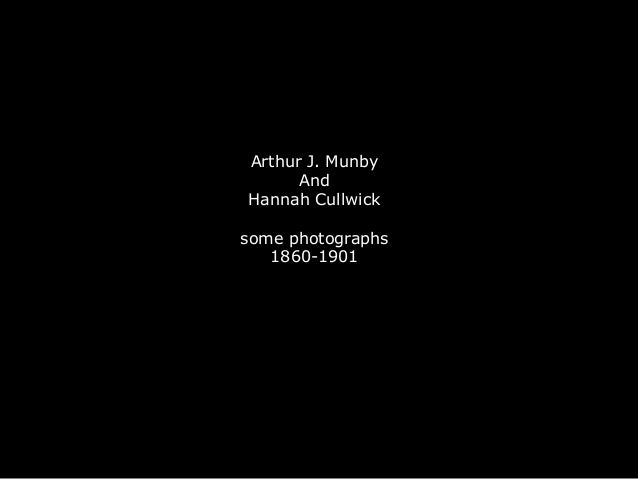 Arthur J. Munby And Hannah Cullwick some photographs 1860-1901
