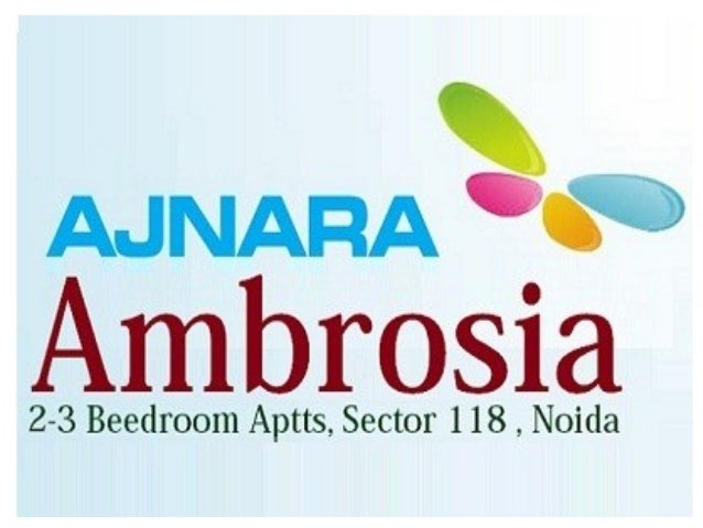 Ajnara Ambrosia Flats for Rent - 9911154422 , Noida Sector 118