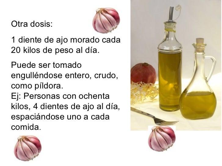 Como usar el ajo japones para adelgazar
