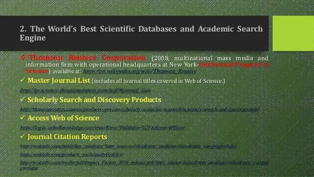 thomson reuters master journal list pdf