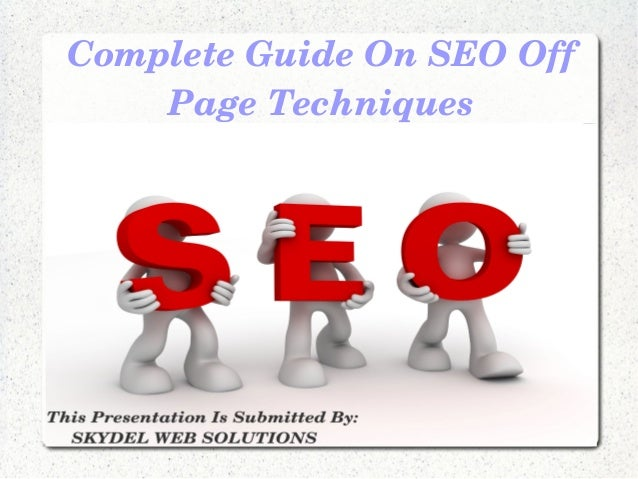 CompleteGuideOnSEOOffPageTechniques