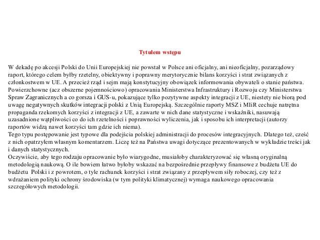 (Aj) podstawy finansów, wpływ środków unii europejskiej na wybrane wskaźniki polskiej gospodarki prezentacja2 Slide 3