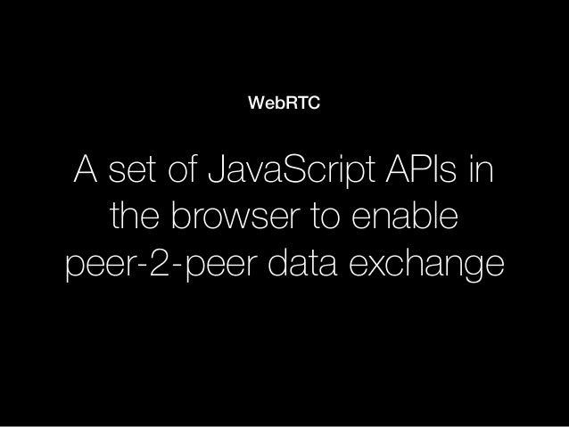 A jQuery for WebRTC Slide 3