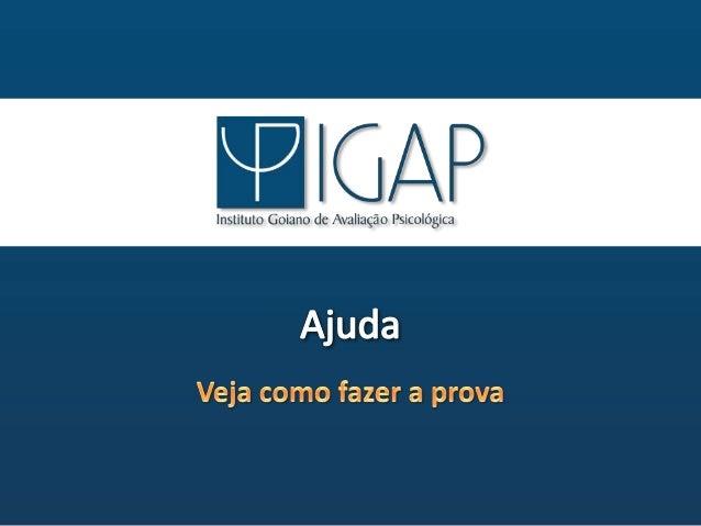"x  J;  Cl/ Ax  Instituto Goiano de Avaliação Psicológica  ""v Íu  ; NJ  EJ -: :=: _Ifri:1«:4 ; Í-gráai"" a:  *vai  v  . i"