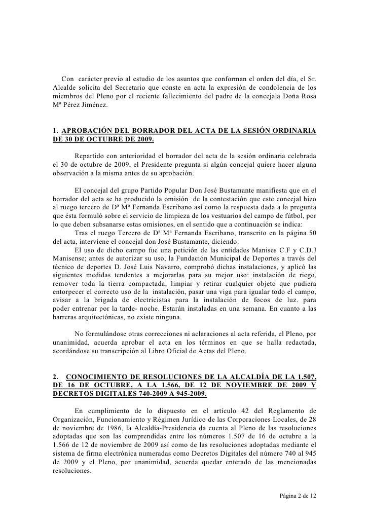 Acta 09/13 27.11.09 Slide 2