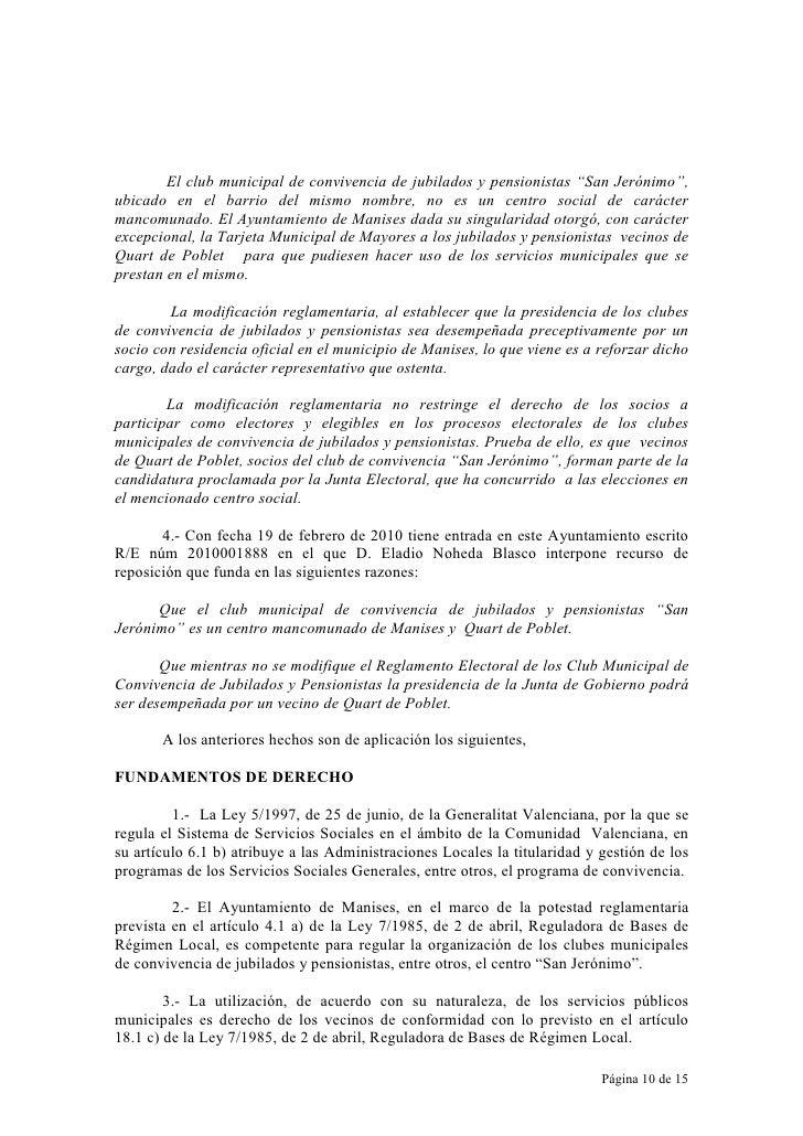 """El club municipal de convivencia de jubilados y pensionistas """"San Jerónimo"""", ubicado en el barrio del mismo nombre, no es ..."""