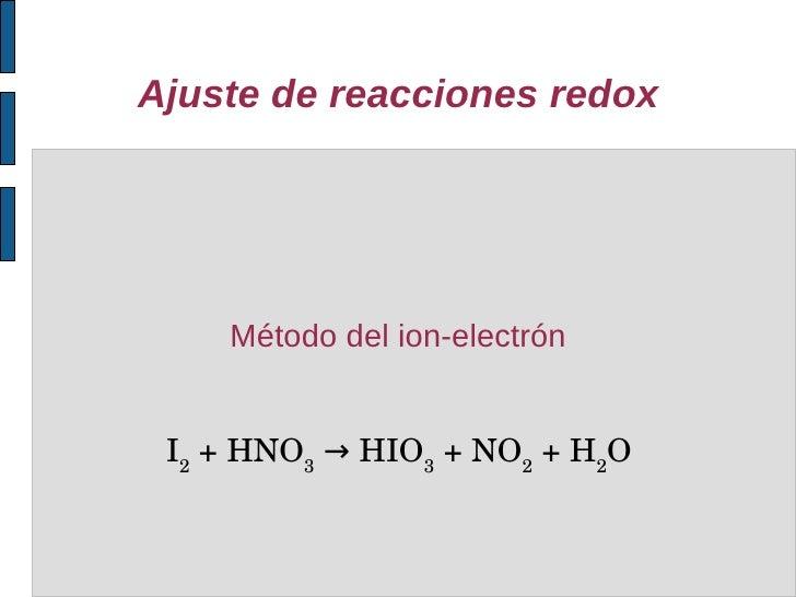 Ajuste de ecuaciones quimicas online dating 5