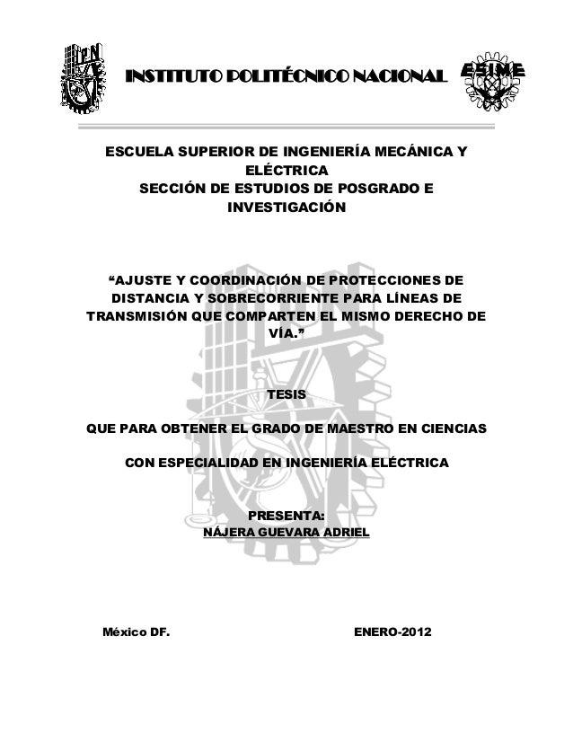 INSTITUTO POLITÉCNICO NACIONAL ESCUELA SUPERIOR DE INGENIERÍA MECÁNICA Y ELÉCTRICA SECCIÓN DE ESTUDIOS DE POSGRADO E INVES...