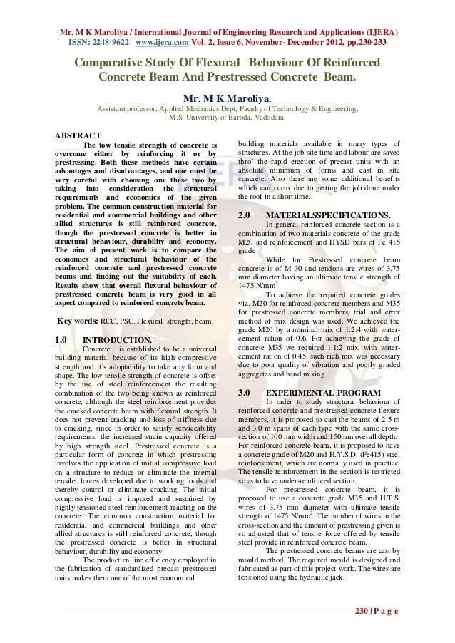 Mr. M K Maroliya / International Journal of Engineering Research and Applications (IJERA)  ISSN: 2248-9622 www.ijera.com V...
