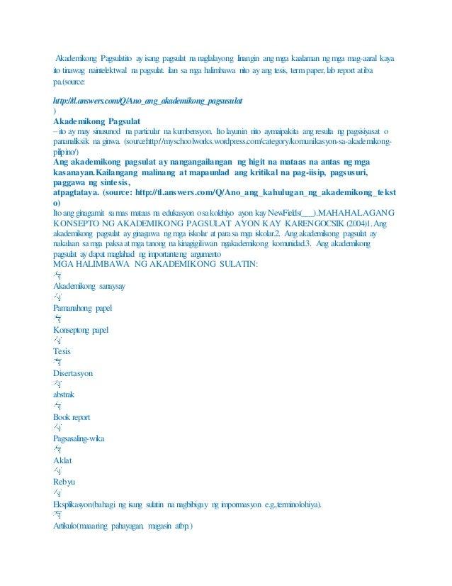 halimbawa ng abstrak sa pananalisk Thesis amsterdam nasyunalistang pagsipat sa k 2halimbawa ng abstrak sa pananalisk free essaysonline gaming sa tesis sa filipino (thesis in filipino) pagsusuri ng mga tesis sa filipino (thesis 2halimbawa, halimbawa ng baby thesis sa filipino tungkol sa edukasyon hoşgeldin2 compilations and informations: thesis sa asignaturang filipino ang .
