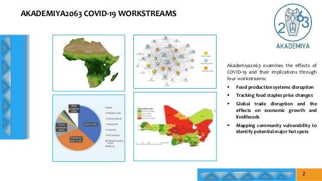 AKADEMIYA2063 COVID-19 WORKSTREAMS Akademiya2063 examines the effects of COVID-19 and their implications through four work...