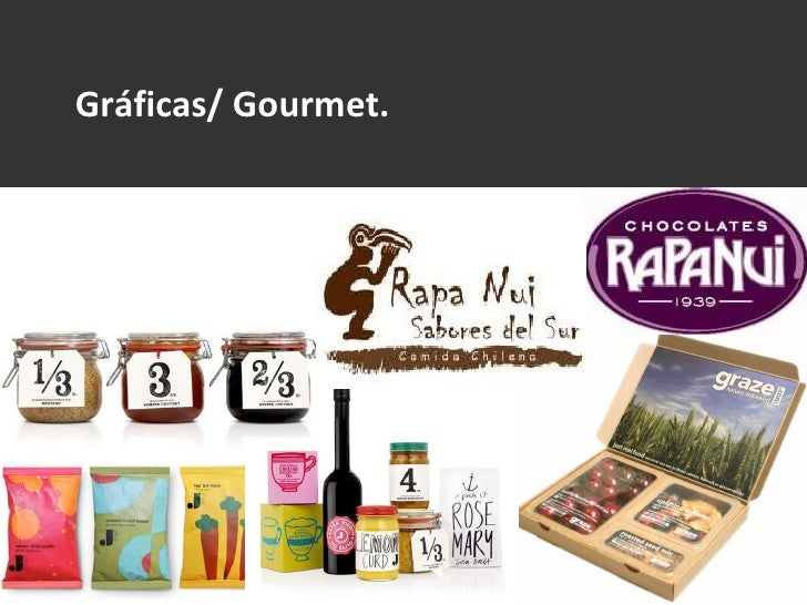 Gráficas/ Gourmet.