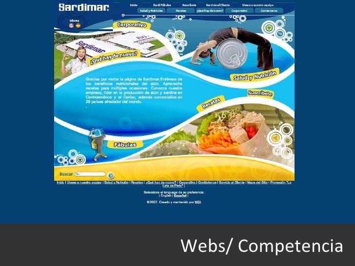 Webs/ Competencia