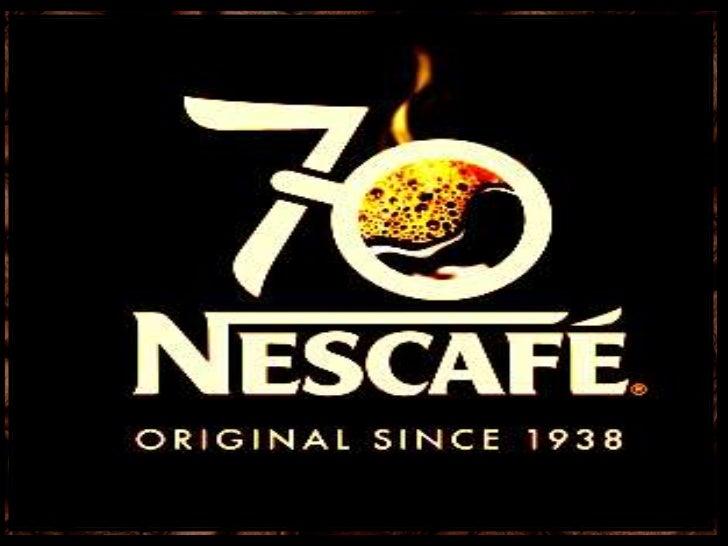 ORIGIN and HISTORY        of     NESCAFÉ