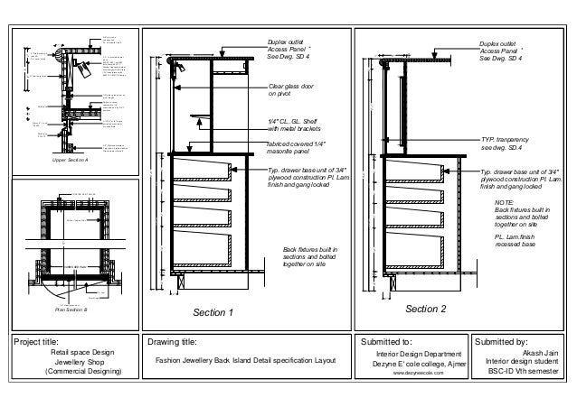 Cabinet Drawer Construction Details : Akash jain work