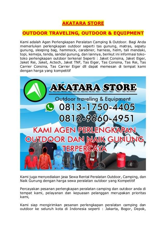 0813 1750 4405 Hp Wa Penyewaan Alat Camping Bekasi