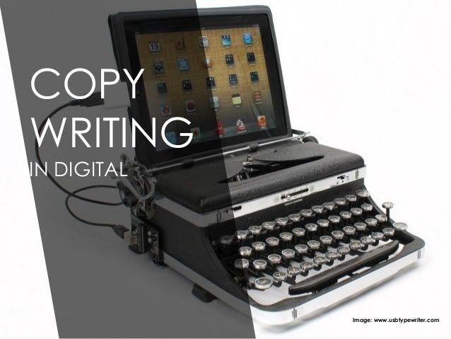 COPY WRITING IN DIGITAL Image: www.usbtypewriter.com