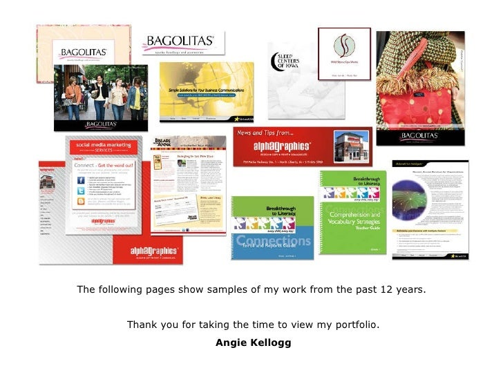 The following pages show samples of my work from the past 12 years.  Thank you for taking the time to view my portfolio. A...
