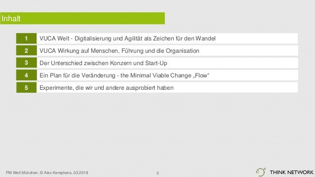 Digitalisierung und Agilität vs. klassische Konzernstrukturen Slide 3