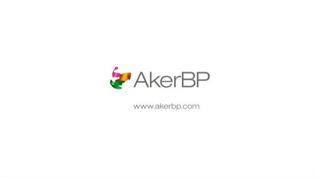 Aker BP Fourth Quarter Financial Results Q4 2016 - Presentation