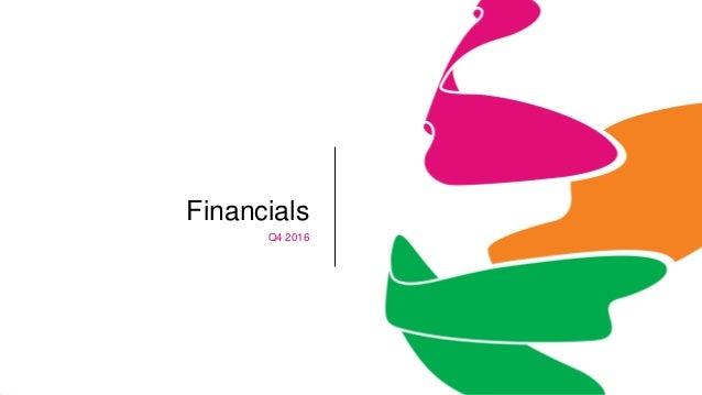 Financials Q4 2016