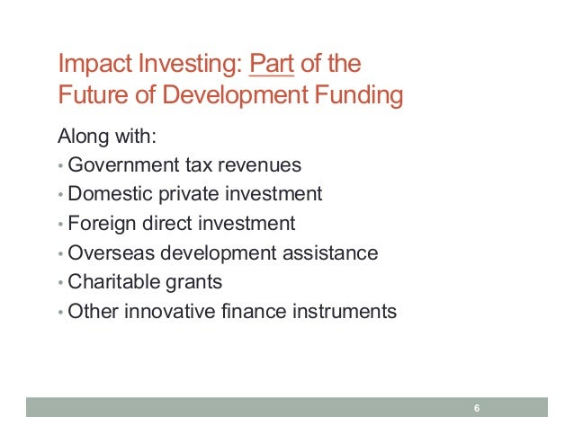 Accelerating impact impact investing innovative financing for devel impact investing malvernweather