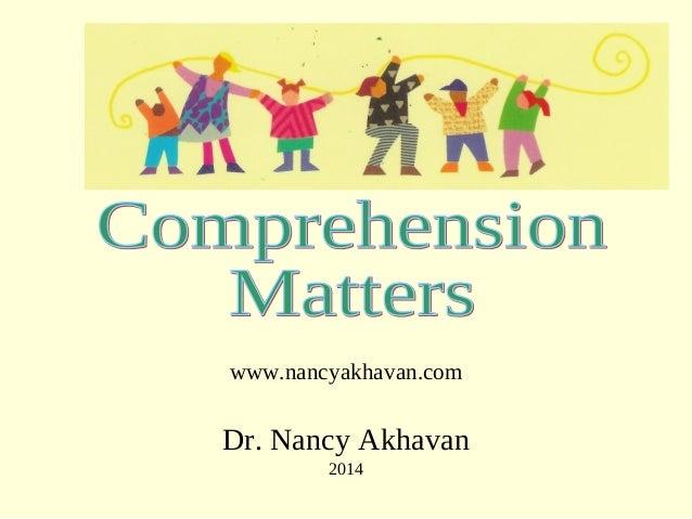 www.nancyakhavan.com Dr. Nancy Akhavan 2014