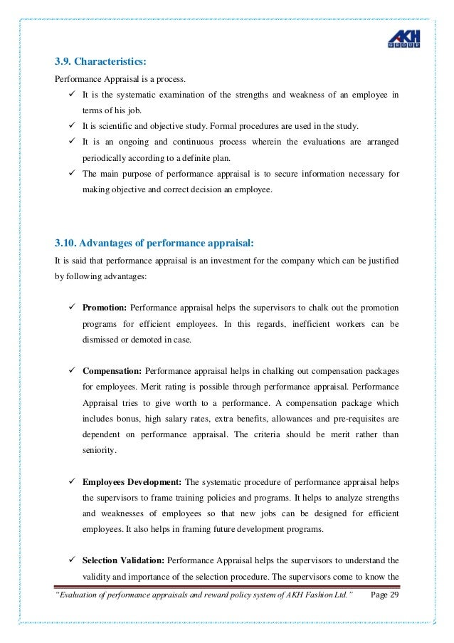 Fotoeléctrico directorio Salir  Evaluate the process of performance appraisals and reward policy of A…